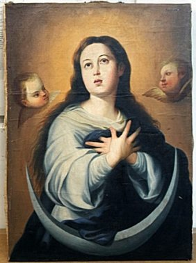 Oil Painting By Jose Campeche