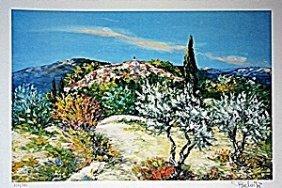 Village De Montagne état Ii By Marcel Belvisi