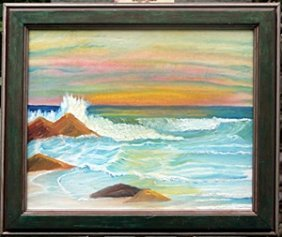 Original Acrylic Painting By Josephine Maltlry