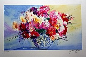 Limited Edition Lithograph By Artist Claude Mars