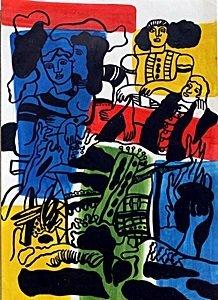 The Love 1930' - Fernand Leger