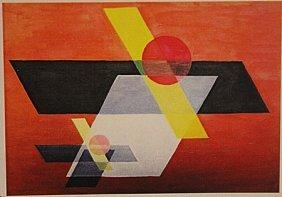 Laszlo Moholy - Composition
