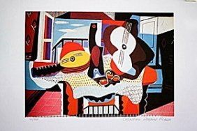 Picasso Limited Edition - Mandolin And Guitar - From