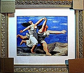 Picasso - Limited Edition - Women Running On The Beach
