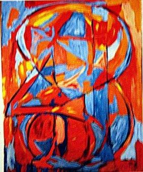 Jasper Johns - 1-3-4
