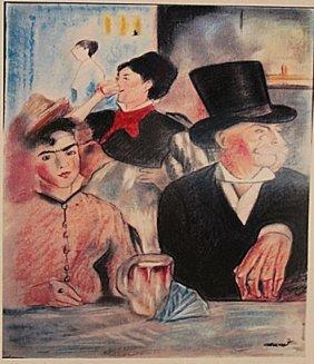 Edouard Manet - Chez Le Pere Lathuille