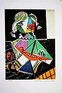 Picasso Limited Edition - Girl With A Boat - From