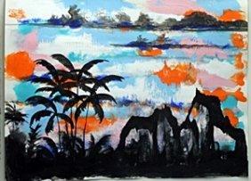 """kaiser Land"" Oil Painting By William Verdult"