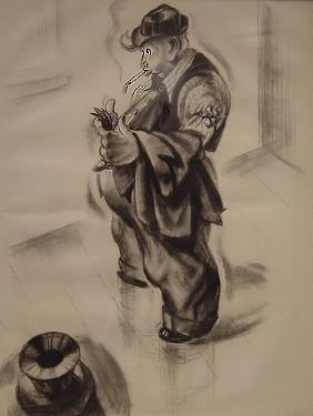 Irwin Glass Drawing American Illustrator