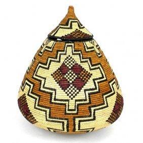 Zulu Wedding Basket- Os01 - Ilala Weavers