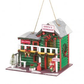 Santas Workshop Birdhouse