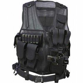 Classic Safari Tactical Vest And Belt