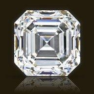 Gia Cert 1.01 Ctw Asscher Diamond J/vs1