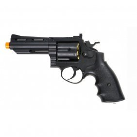 Airsoft Metal Gas Powered Revolver Fps 280