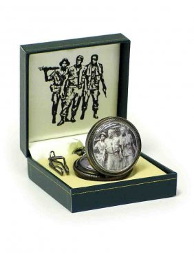 Vietnam Veterans Memorial Pocket Watch
