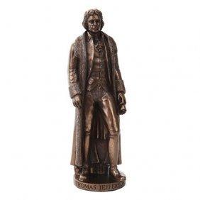 Jefferson Statue Cold Cast Bronze Statue