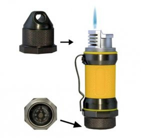 Visol Storm Gunmetal / Yellow High Altitude Windproof L