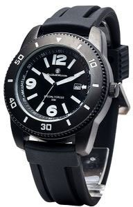 Smith And Wesson Paratrooper Watch W/rubber Band