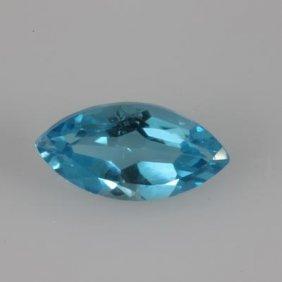 Genuine 6.33 Ctw Blue Topaz Marquise 9x18
