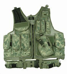 Acu Digital Camouflage Deluxe Tactical Vest