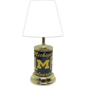 Wolverines Table Lamp