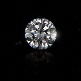 Egl Cert 1.5 Ctw Round Diamond E/vs2