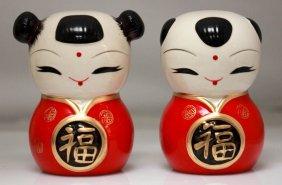 Porcelain Piggy Banks