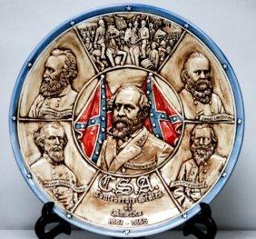 Collectors Csa Dedication Plate To Robert E. Lee