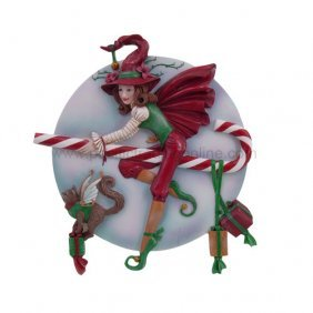 Candy Cane Witch