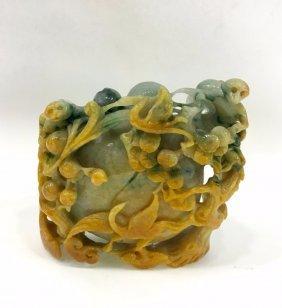 Chinese Jadeite Jade Carving
