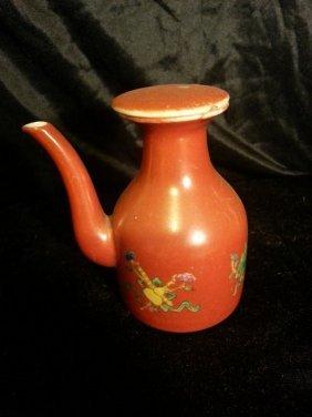 Antique Chinese Porcelain Teapot