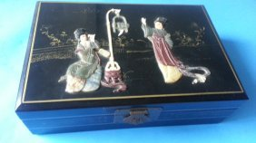Antique Lacquer Box