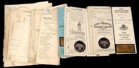 1830's & Later Paper Ephemera Lot