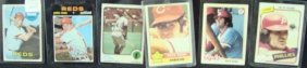 1969-80 Topps Pete Rose Star Card Lot