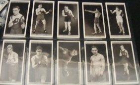 1928 Ogden's Pugilists In Action Complete Set