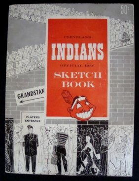 1950 Cleveland Indians Sketch Book
