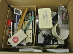Balance Of One Man's Stamp Supplies Lot
