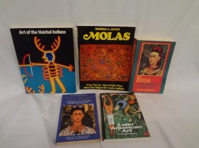 (5) Books On Mexican And Latin American Art And Artists