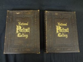 National Portrait Gallery Volumes I And Ii 1862 With