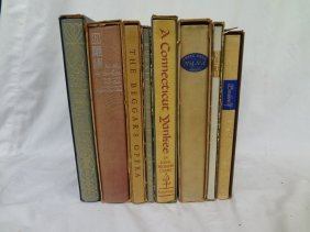 (8) Heritage Press Books: Leonard, Zola, Clemens,