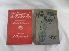 "Sir Arthur Conan Doyle ""sir, Nigel"", And ""the Hound Of"