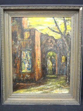 Marion Simpson Original Oil On Board Stunning Colors