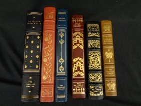 (6) Franklin Library Books Mint Condition: Herman