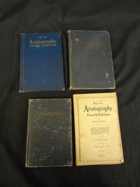 (7) Books On Aristography Isaac S. Dement 1916.