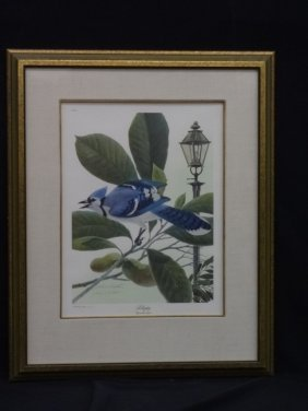 "John Ruthven ""bluejay"" Hand Signed Limited Edition"