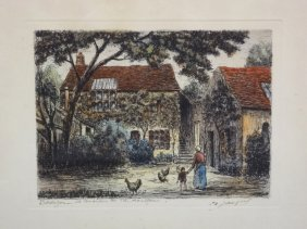 Maurice Jacques 19/20th Century French Artist Titled,