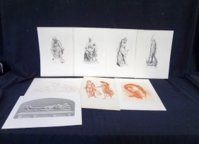(8) Original Engravings 1800's Published By Patterson