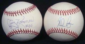 Jerry Koosman & Nolan Ryan Single Signed Baseballs