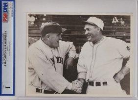 1933 Joe Mccarthy & Rogers Hornsby Type 1 Photograph