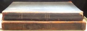 Rare 1890 Bound Ny Tribune Daily News, Two Volumes W